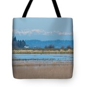 Olympic View Tote Bag