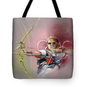 Olympics Archery 01 Tote Bag
