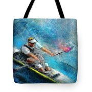Olympics Rowing 01 Tote Bag