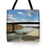 Omaha The Riverfront Tote Bag