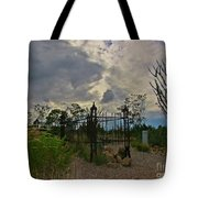 Ominous Boothill Cemetery Tote Bag