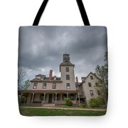 Ominous Clouds At Batsto Village Tote Bag