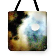 Ominous Moon Tote Bag