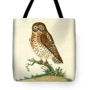 Ominous Owl Tote Bag