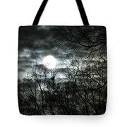 Ominous Sun Tote Bag