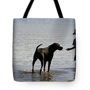 On A Beach 2 Tote Bag
