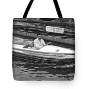 On A Boat Ride At Playland Tote Bag