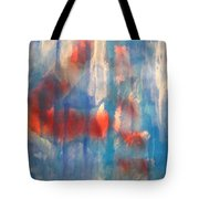 On A Clear Day - Red Forever Tote Bag