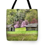 On A Hill At Valley Forge Tote Bag