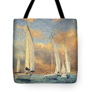 On A Windy Day Tote Bag