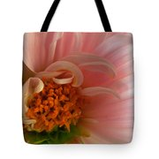 On Being A Dahlia Tote Bag by Kathy Yates