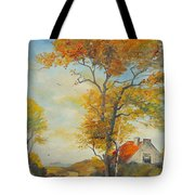 On Country Road  Tote Bag