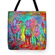 On Fire Tote Bag