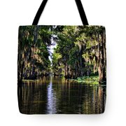 On Golden Canal Tote Bag by Lana Trussell
