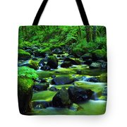 On Golden Waters  Tote Bag