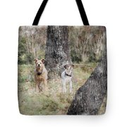 On Guard - Featured In Comfortable Art Group Tote Bag