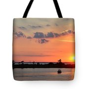 On Lake Maurepas Tote Bag
