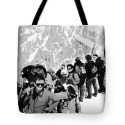 On Mount Blanc Tote Bag