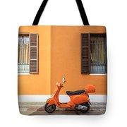 On Orange Street Tote Bag