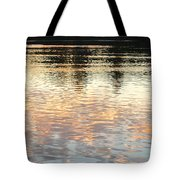 On Shimmering Pond Tote Bag