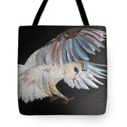 On Silent Wings Tote Bag