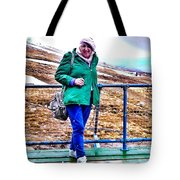 On The Summit Of Ben Nevis Tote Bag