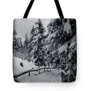 on the Achtermann, Harz Tote Bag