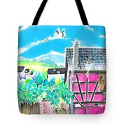On The Alsace Wine Route Tote Bag