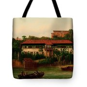 On The Banks Of The River Tote Bag