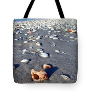 On The Beach Apple Murex Tote Bag