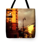 On The Boulevard Tote Bag