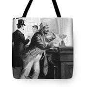 On The Bowery, 1894 Tote Bag