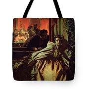 On The Brink, 1865 Tote Bag