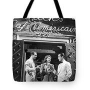 On The Casablanca Set Tote Bag