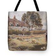 On The Common Hambledon Surrey Tote Bag