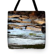 On The Creek Tote Bag