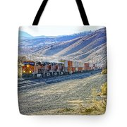 On The Downside Tote Bag