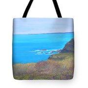 On The Dunes Perranporth Tote Bag