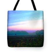 On The Edge Of A Storm Tote Bag