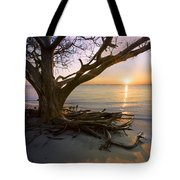 On The Edge Of The Surf Tote Bag