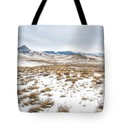 On The Fence Line Tote Bag by Fran Riley