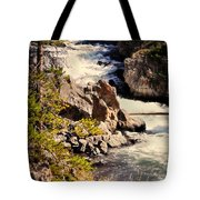 On The Firehole Tote Bag
