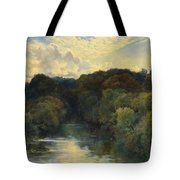 On The Greta Yorkshire 1890 Tote Bag