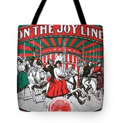 On The Joy Line Tote Bag
