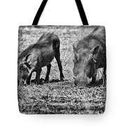 On The Knees Tote Bag