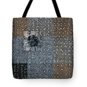 On The Marks Tote Bag by Carol Leigh