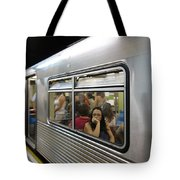 On The Metro - Sao Paulo Tote Bag