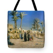 On The Outskirts Of Cairo Tote Bag