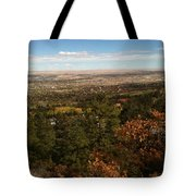 On The Path To The Summit Tote Bag