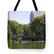On The Pond - Central Park Tote Bag